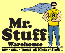 Mr. Stuff Warehouse (800) 621-7140
