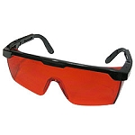 High-Impact Red Lens Safety Glasses