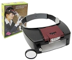 LED Head Lamp with Magnifier