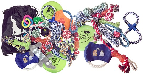 13-pc Dog Toy Assortments