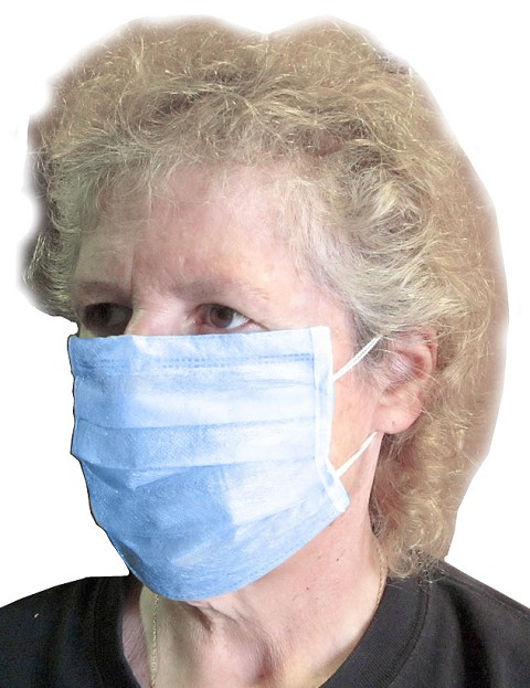 50-pc Disposable Face Filter Masks