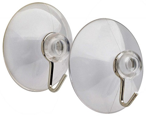 "2-1/2"" Suction Cup with Hook"