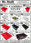 CAMBRO Bins/Food Trays