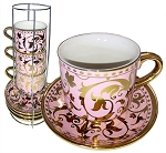 9-pc Coffee/Tea Cup Set