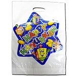 Happy Hanukkah Plastic Goody Bag