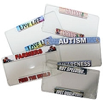 Acrylic License Plate Covers
