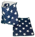 Patriotic Canvas Pouch
