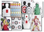 100-pc Assortment Large Paper Shooting Targets