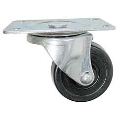 "2"" Rubber Swivel Caster"