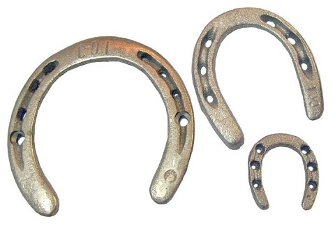 Cast Iron Horseshoes